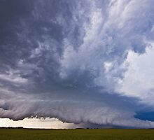 Watonga Supercell by intotherfd