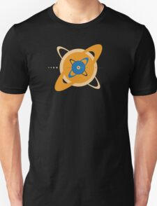 Solar System To Scale - Concentric T-Shirt