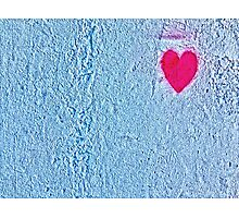 Heart wall Photographic Print