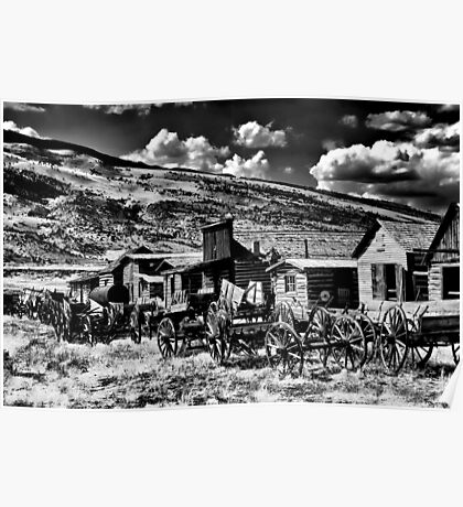 Infrared Ghost Town Poster