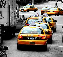 New York Taxies by Fojo