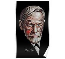 "Sigmund Freud ""Super Ego"" Poster"
