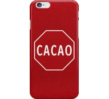 Cacao! iPhone Case/Skin