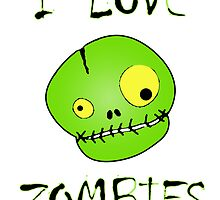 I Love Zombies by surgedesigns