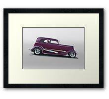 1934 Ford Victoria Framed Print