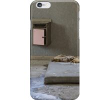 mattress in abandoned hospital iPhone Case/Skin