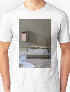 mattress in abandoned hospital Unisex T-Shirt