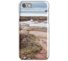 Seacliff at low tide. iPhone Case/Skin