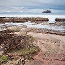 Seacliff at low tide. by Christopher Cullen