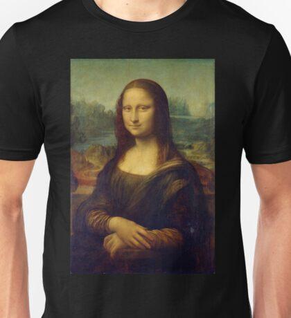 Mona Lisa by Leonardo da Vinci Unisex T-Shirt