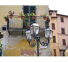 The pictoresque and lively town of Barga Photographic Print