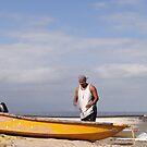 The Fisherman And The Ocean - El Pescador Y El Océano  by Bernhard Matejka