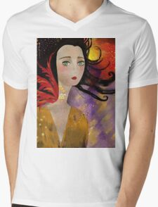 Ennui Hamper Mens V-Neck T-Shirt