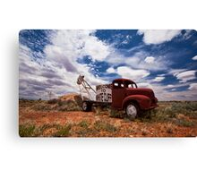 Welcome to Whitecliffs Canvas Print