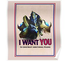 I want you to! Poster
