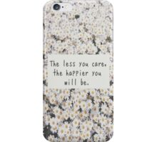 Daisy Quote iPhone Case/Skin