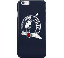 Captain Buff - Retro Logo iPhone Case/Skin