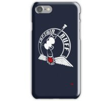 Captain Buff - Retro Logo iPhone Case/Skin