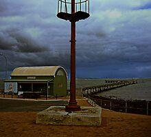 Old Lighthouse by Julia Harwood
