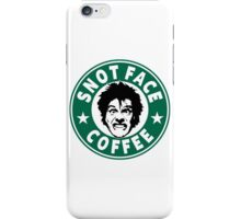 Snot Face Coffee iPhone Case/Skin