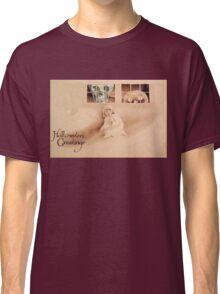 Wrong Shoulder... (Vintage Halloween Card) Classic T-Shirt