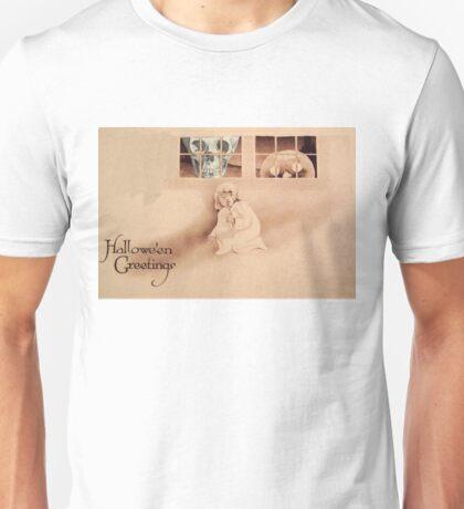 Wrong Shoulder... (Vintage Halloween Card) Unisex T-Shirt