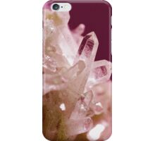 Pink crystals. Geode iPhone Case/Skin