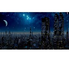 Metropolis Moon Photographic Print