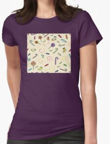 Gluttony Womens Fitted T-Shirt