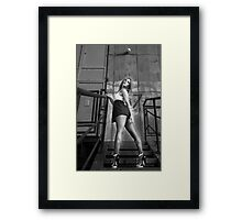 D1 Framed Print