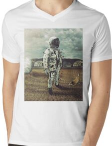 Neighborhood Mens V-Neck T-Shirt