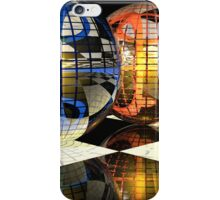 Spheres refraction reflections iPhone Case/Skin
