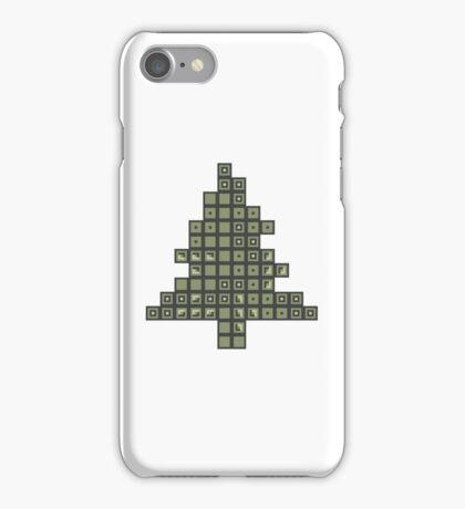 Tetrismas Tree iPhone Case/Skin