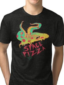 Space Pizza Tri-blend T-Shirt