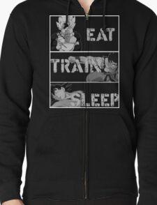Goku eat,train and sleep T-Shirts T-Shirt