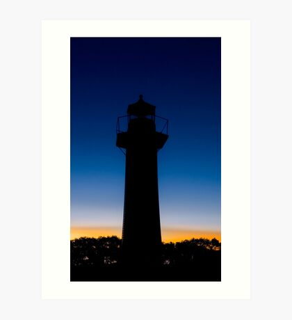 Be the Light in the Dark - Cleveland Point Qld Australia Art Print