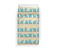 Elephant Yoga Duvet Cover