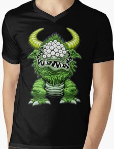 THE BLACK BEAST Mens V-Neck T-Shirt