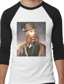 ThaT fabulous Beard (Photo restore) Men's Baseball ¾ T-Shirt