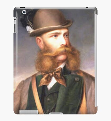 ThaT fabulous Beard (Photo restore) iPad Case/Skin