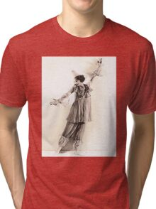 Star Of Stage and Screen (Photo Restore)  Tri-blend T-Shirt
