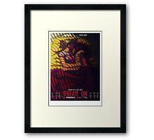 Dream On Poster Framed Print