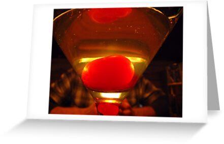 Apple Martini by Brenda Dahl