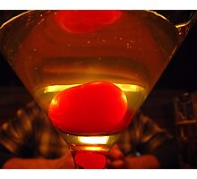 Apple Martini Photographic Print