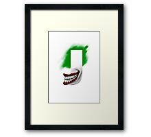 Geek letter J Framed Print