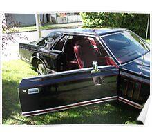 1978 Lincoln Continental Mark V Door Poster