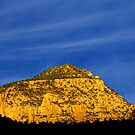 The Golden Hour @ the Golden Mountain by Tim Scullion