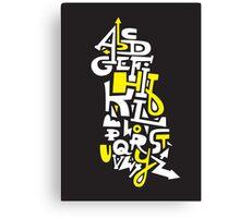 Learn Your ABC Canvas Print