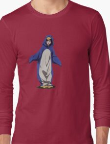 Hyouka: Eru Chitanda Penguin Outfit Pose Long Sleeve T-Shirt