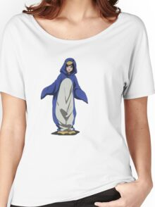 Hyouka: Eru Chitanda Penguin Outfit Pose Women's Relaxed Fit T-Shirt